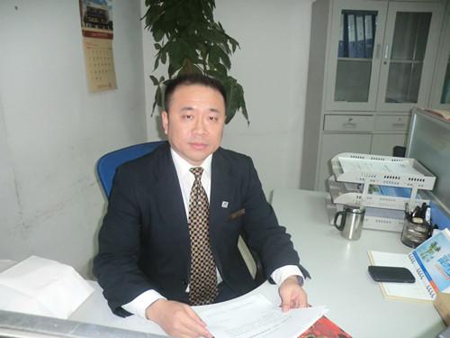 蔚蓝海岸国际大酒店办公室主任 刘汉文江苏金海投资